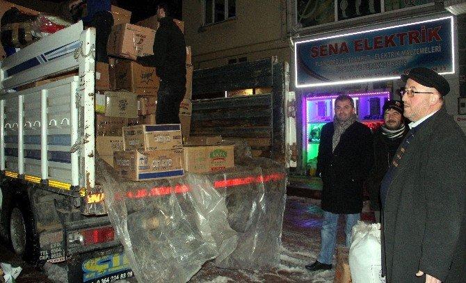 Bozkurt'tan Bayırbucak Türkmenlerine Yardım