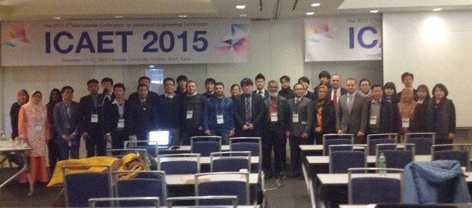 """Doç. Dr. Hasan Türkez'den Güney Kore'de """"Bor Biyolojisi"""" Konferansı"""