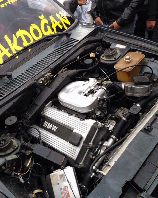 Çocuğu Gibi Sevdiği Şahin'e Bmw Motoru Taktırdı