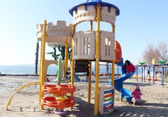 Büyükçekmeceli Çocukların Tatil Keyfi