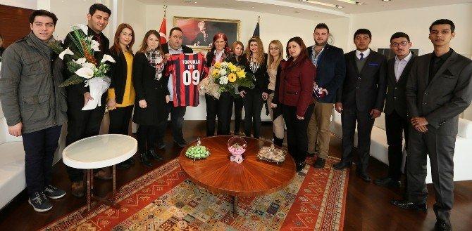 Söke CHP Gençlik Kolarından Başkan Çerçioğlu'na Ziyaret