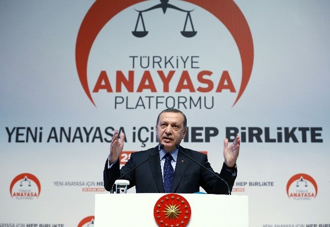 Cumhurbaşkanı Erdoğan'dan 'Yeni Anayasa' Açıklaması