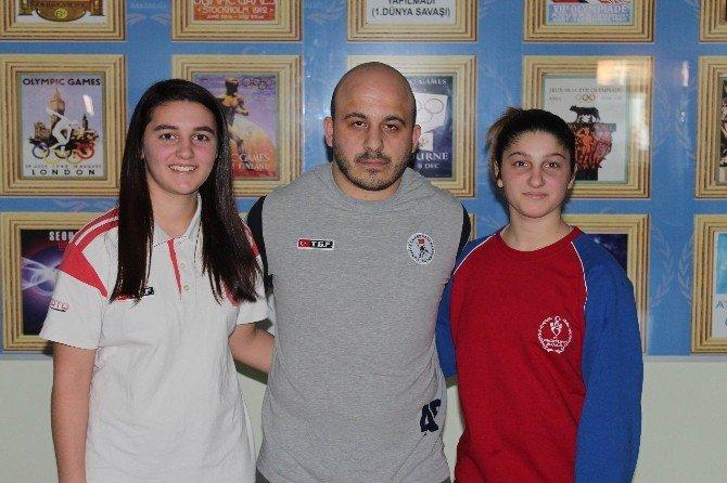 Tekirdağlı Damla Güreşte Türkiye Üçüncüsü Oldu
