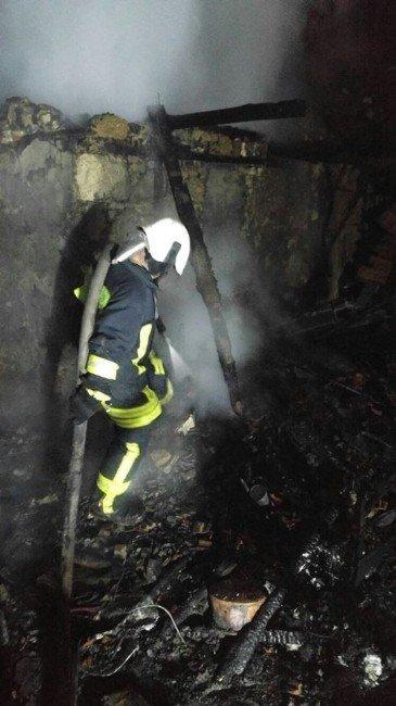 Denizli'de Yangın: 1 Ölü