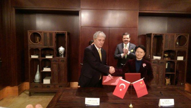 EBSO, Çin'le 'e-İpek Yolu' anlaşması imzaladı