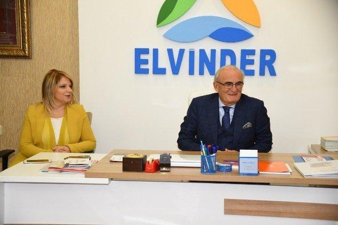 Başkan Yılmaz'dan Elvinder'e Övgü