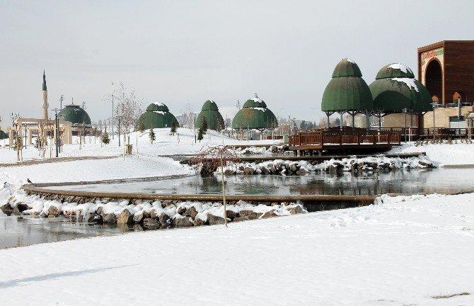 Cip Barajı Buz Tuttu