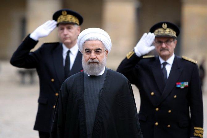 Ruhani için resmi karşılama töreni yapıldı