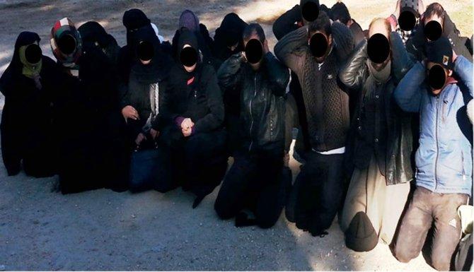 Genelkurmay: Sınırda IŞİD terör örgütü üyesi, 22'si çocuk 47 kişi yakalandı