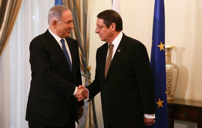 Çipras, Netanyahu ve Anastasiadis üçlü zirvede bir araya geldi