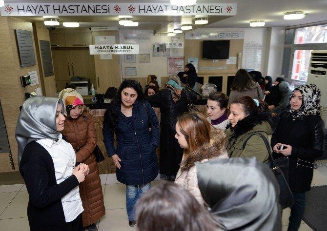 Hasta Kabul Kurslarında Staj Dönemi