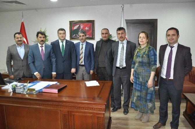 Müdür Türkoğlu'ndan Genel Sekreter Yentür'e Ziyaret