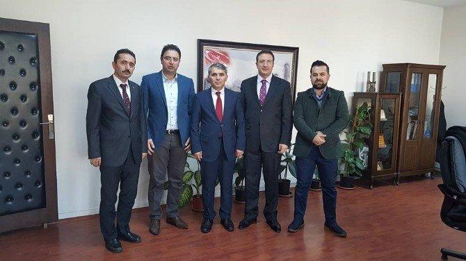 AK Parti Palandöken İlçe Başkanlığı'ndan İlçe Milli Eğitim Müdürlüğüne Ziyaret