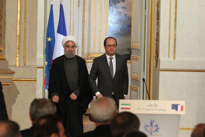 """Ruhani'nin Paris ziyaretinde """"118 adet Airbus"""" anlaşması imzalandı"""