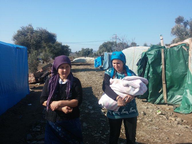 Yaklaşık 2 bin Suriyeli naylon çadırlarda yaşam savaşı veriyor