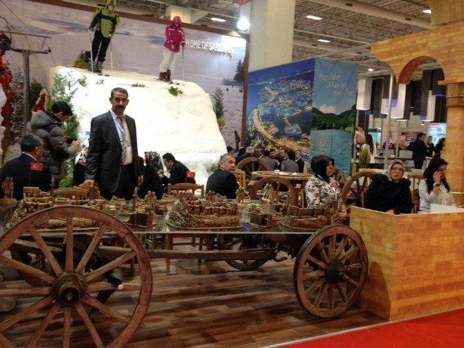 Kars Valiliği 20. Doğu Akdeniz Uluslararası Turizm Ve Seyahat Fuarı'da Yerini Aldı