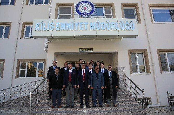 Kesob'dan Emniyet Müdürü Özdemir'e Ziyaret