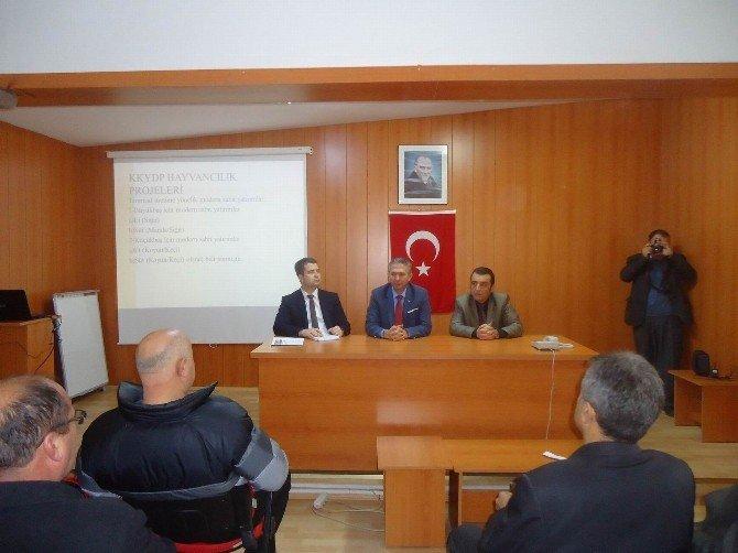 Kooperatif Yöneticileri Eğitimi Ve Hayvancılık Projeleri Bilgilendirme Toplantısı