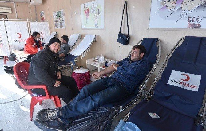 Ahlat'ta Kan Bağışı Kampanyası