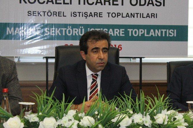 Vali Güzeloğlu, Makine Sektörü Yöneticileriyle Bir Araya Geldi