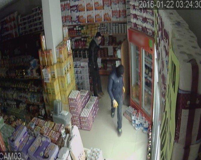VİP Minibüslü Hırsızlar Güvenlik Kamerasında
