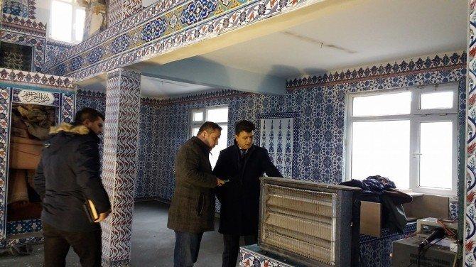 Kozlu Belediyesi Camilerin Bakım Çalışmalarını Sürdürüyor