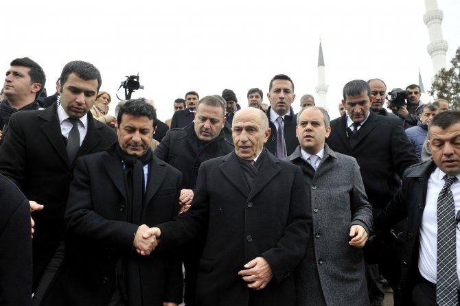 Gülseren Özdemir'in cenazesine Çağlayan ve Güler de katıldı