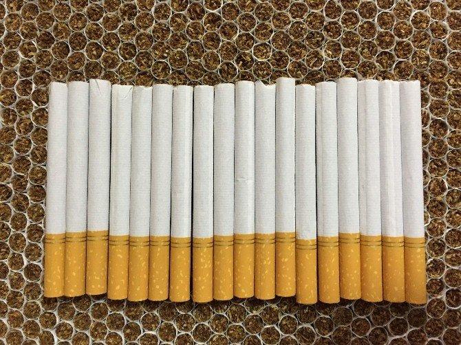 Manisa'da Kaçak Sigara Operasyonu