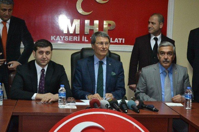 MHP Kayseri Milletvekili Yusuf Halaçoğlu: