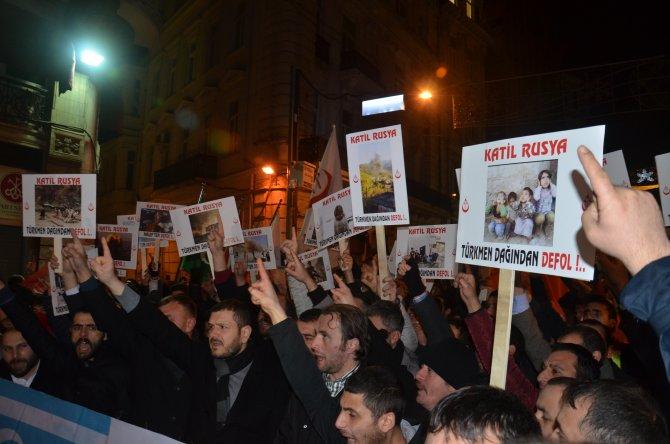 Alperen Ocakları'ndan 'Türkmen Dağı' protestosu