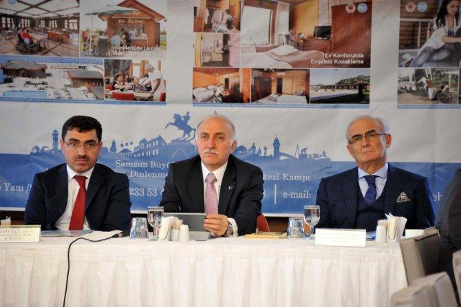 Başkan Yılmaz: Mesleksizlik, Türkiye'nin büyük bir problemidir