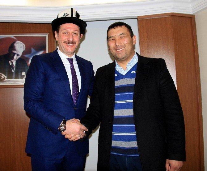 """İlkadım'dan Kırgız Heyete """"Geri Dönüşüm"""" Sunumu"""