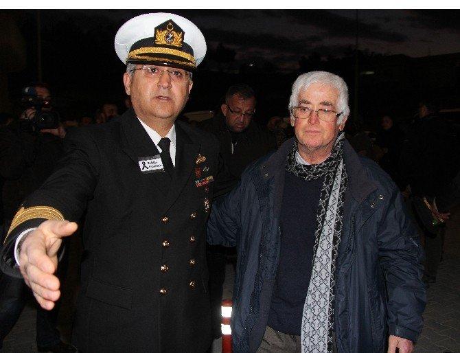 Şehit Yüzbaşı Çiğa'nın Cenazesi Mersin'e Getirildi