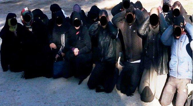 Sınırda 48 Deaş Militanı Yakaladı