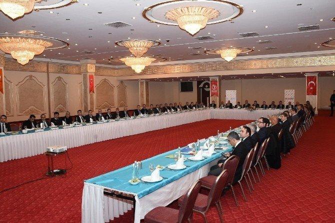 Şanlıurfa'da Şuyergep Toplantısı Yapıldı