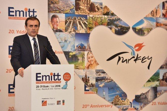 EMITT Turizm Fuarı Açıldı