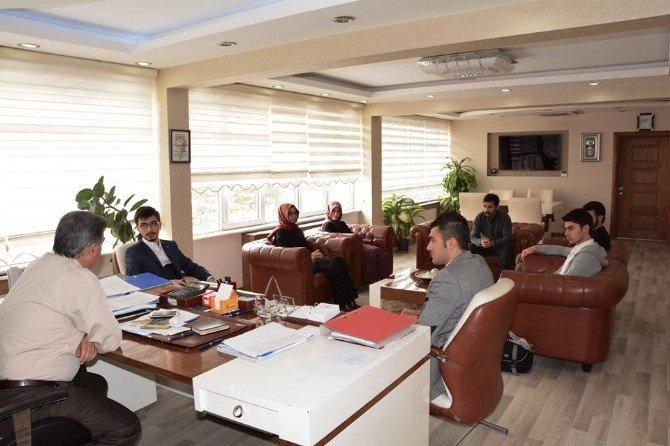 Tügva, Niğde İl Yönetiminden Ali Nebol'e Ziyaret