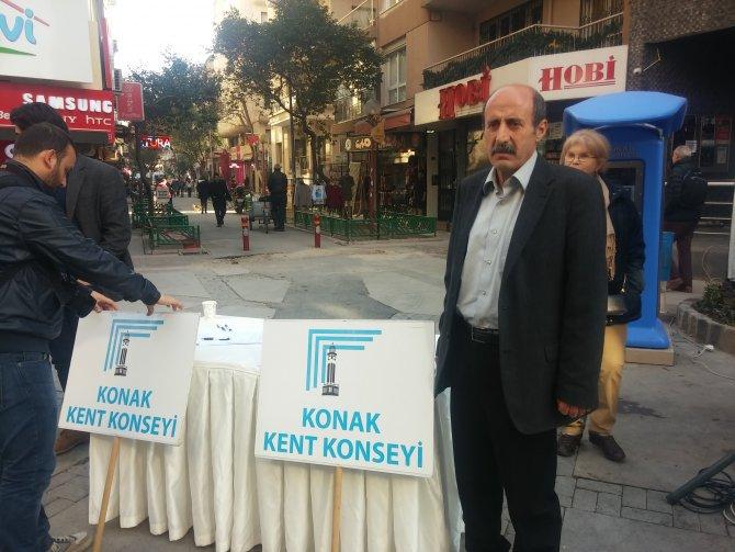 Konak Kent Konseyi'nden akademisyenlere destek