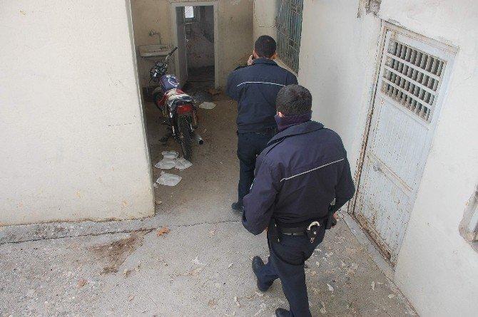 Şüpheli Motosiklet Polisi Harekete Geçirdi