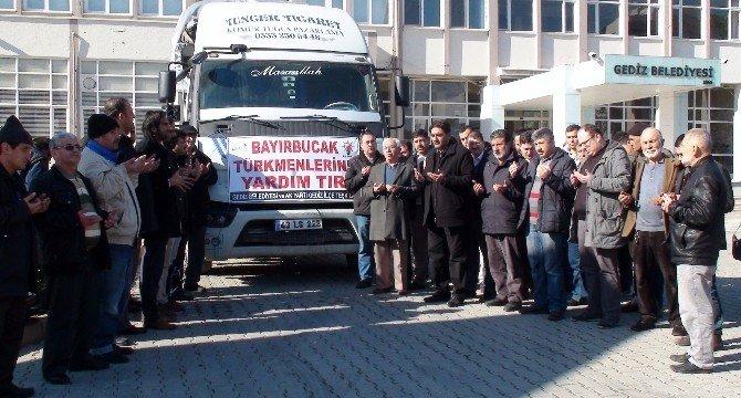 Gediz'den Bayır-bucak Türkmenlerine Yardım