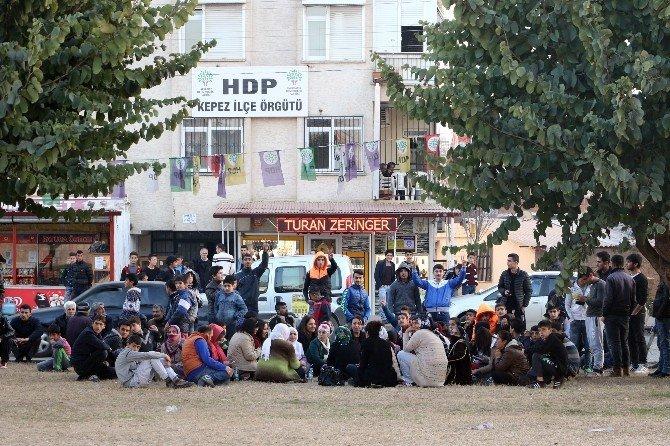 HDP'nin İzinsiz Çadırına Polis Engeli