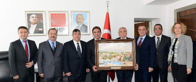 ATSO Heyeti Sektörlerin Sorunlarını Ankara'ya Taşıdı