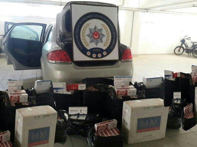 Aydın'da Kaçak Sigara Operasyonu