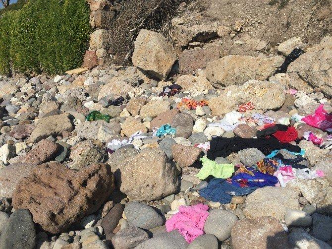 Mülteciler Kaçıyor, Çöpleri Kalıyor