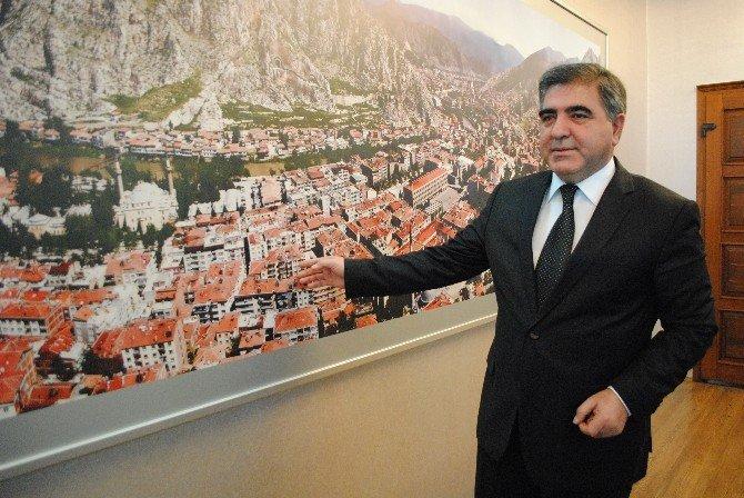 Amasya'nın Yağmur Suyu Hattı 9 Milyon TL'lik Projeyle Yenilenecek