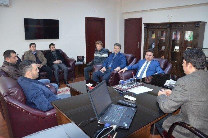 Başkan Uçar'dan Başsavcı Bayçelebi'ye Ziyaret