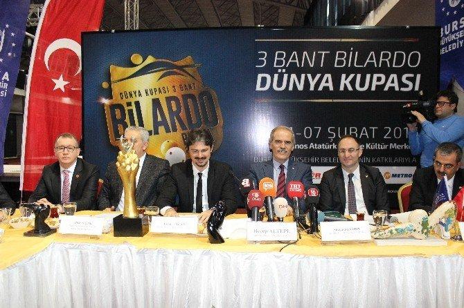 Bilardo Dünya Kupası Heyecanı Bursa'da Başlıyor