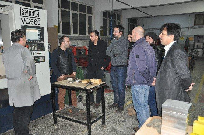 Bozüyük'te Cnc Tezgahları Ve Programlama Kursu Açıldı