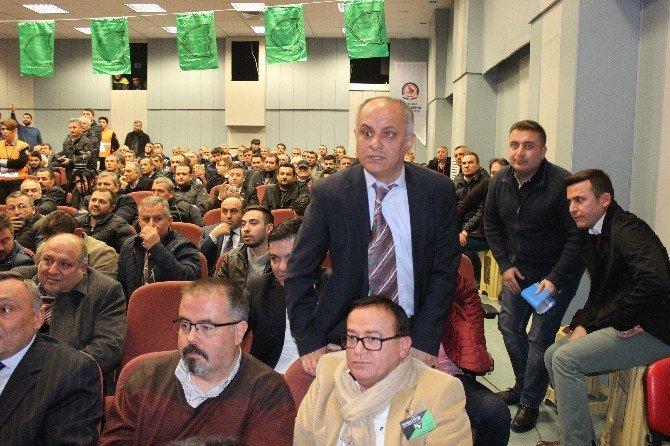Gergin Denizlispor Kongresinde Mustafa Şavluk, Yeniden Başkan Seçildi