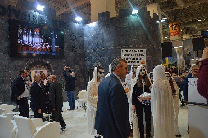 EMITT Fuarı'nda Diyarbakır Standına Büyük İlgi